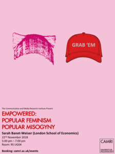 Empowered: Popular Feminism and Popular Misogyny @ University of Westminster | England | United Kingdom