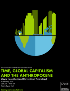 Time, Global Capitalism and the Anthropocene @ University of Westminster (Fyvie Hall) | England | United Kingdom