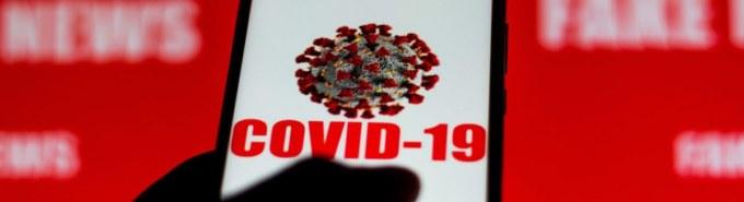 In this photo illustration the Covid-19 virus (coronavirus)