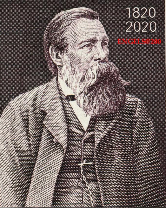 Friedrich Engels Stamp