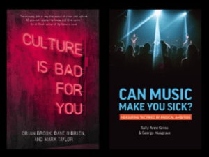 Bad Culture, Sick Music? Fairness and Wellbeing in Cultural Work: Books Panel @ Online